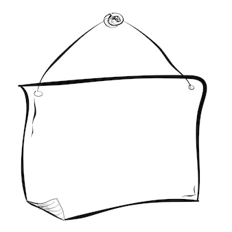 Simple sketch blank curl prancha em branco