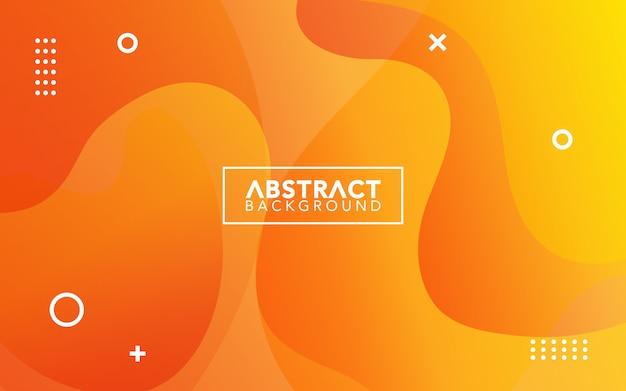 Simples abstrato com estilo fluido gradiente.