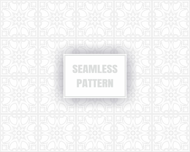 Simples cinza padrão sem emenda, sobre um fundo branco