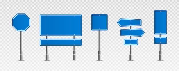 Sinais realistas de estrada de trânsito sinal de aviso de sinalização, pare perigo, cuidado, velocidade, estrada, rua, placa