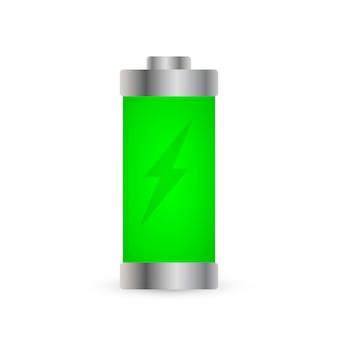 Sinal de bateria de energia
