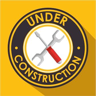 Sinal de construção