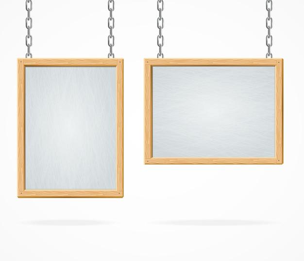 Sinal de quadro branco isolado