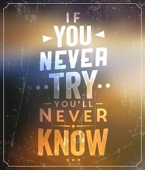 Sinal tipográfico / citações motivacionais