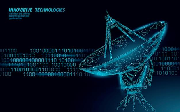 Sistema antivírus de segurança na internet. segurança de dados pessoais de radar poligonal.