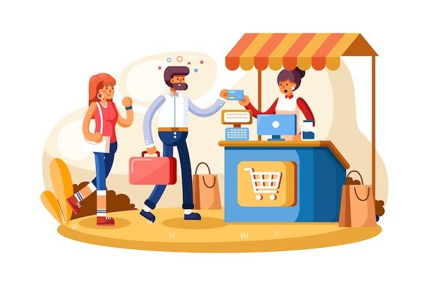 Sistema de pagamento de ponto de venda