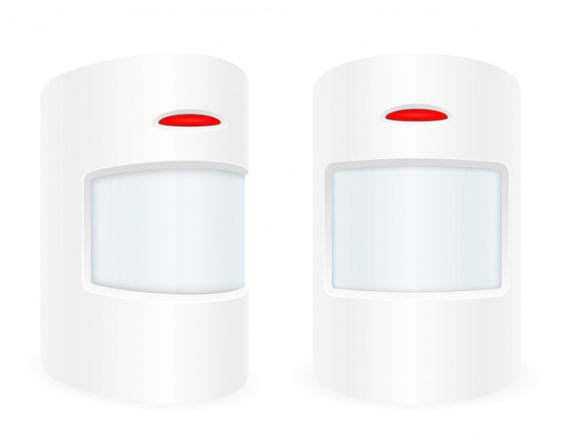 Sistema de segurança doméstica com sensor de movimento