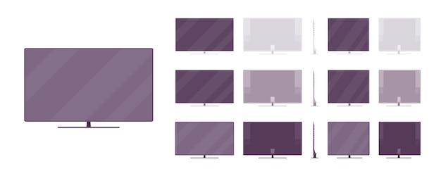 Sistema de tv lcd