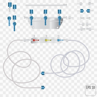 Sistema para infusões intravenosas