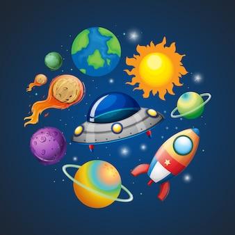 Sistema solar e espaço