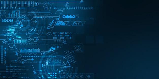 Sistemas digitais que estão calculando dados.