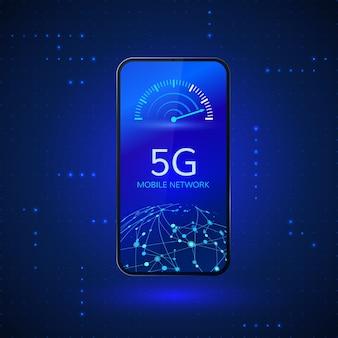 Sistemas sem fio de rede 5g e internet