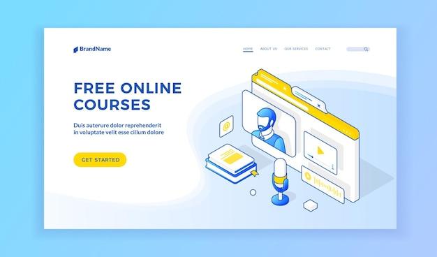 Site de cursos online grátis