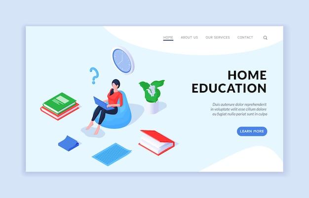 Site de educação doméstica