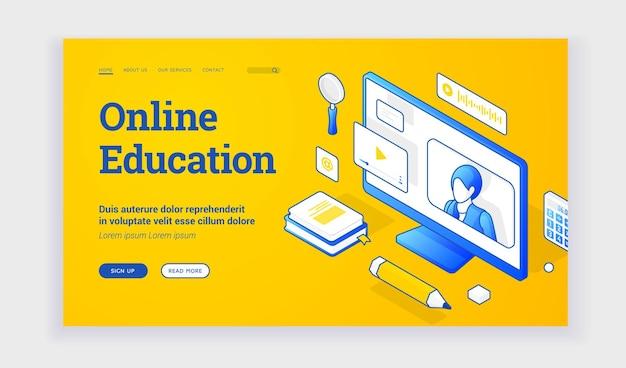 Site de educação online