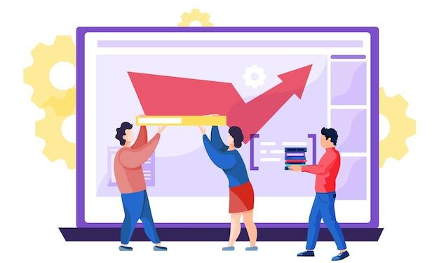 Site para cursos de educação e negócios