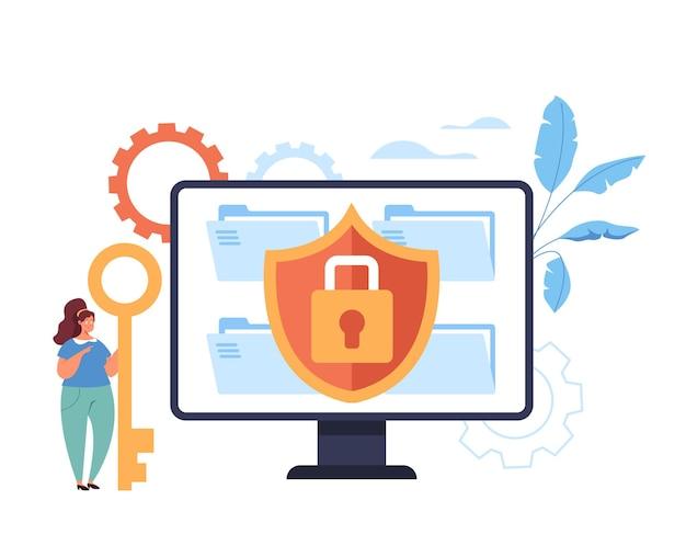 Site seguro bloqueado usando o conceito