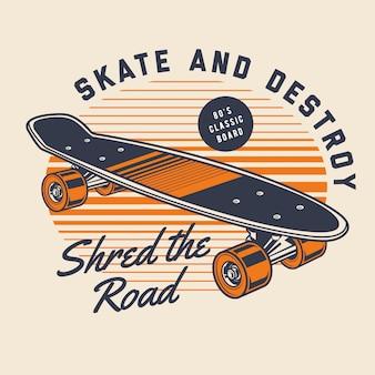 Skate clássico