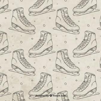 Sketches patins padrão