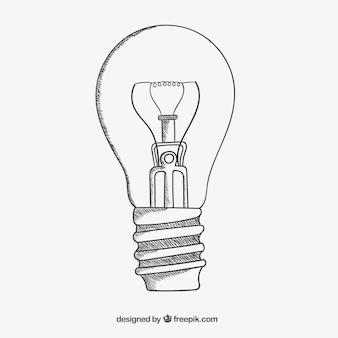 Sketchy lâmpada