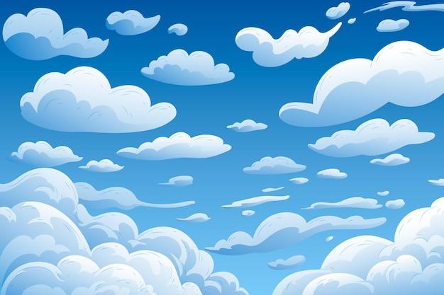 Sky - fundo para videoconferência