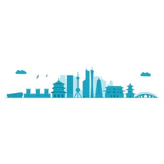 Skyline da china