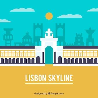 Skyline de lisboa