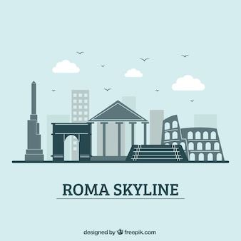 Skyline design de roma
