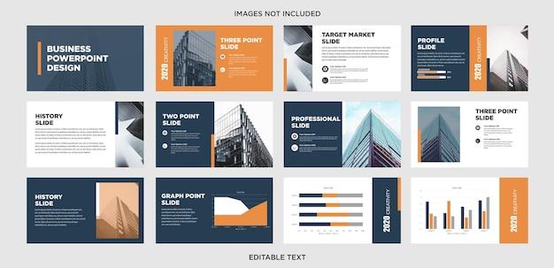 Slides de negócios multifuncionais