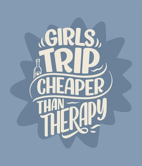 Slogan de letras sobre terapia citação engraçada