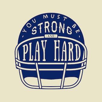 Slogan futebol americano