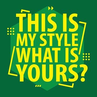 Slogan tipografia para design de camisa de t