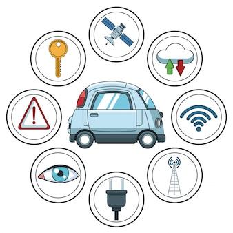 Smart car smarthphone app