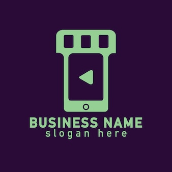 Smart phone video logo