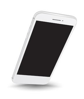 Smartphone maquete fácil lugar imagem na tela