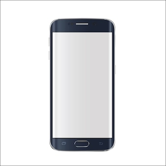 Smartphone moderno isolado
