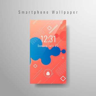 Smartphone papel de parede na moda