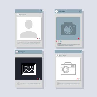 Smartphones definem ícones isolados