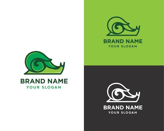 Snail plant logo