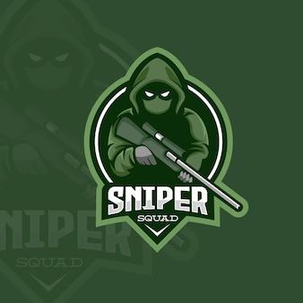 Sniper assasin logo