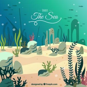 Sob o mar, fundo