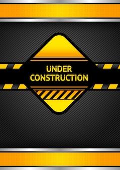 Sob sinal de construção