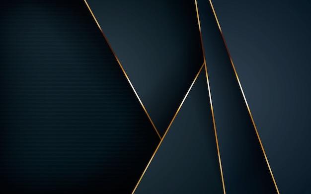 Sobreposição de camadas escuras abstrato