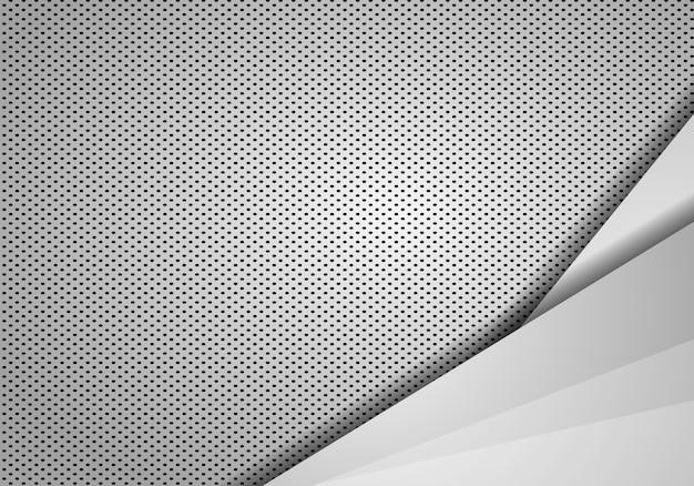 Sobreposição de fundo abstrato com textura de pontos