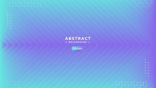 Sobreposição moderna abstrata de fundo gradiente quadrado azul com linhas