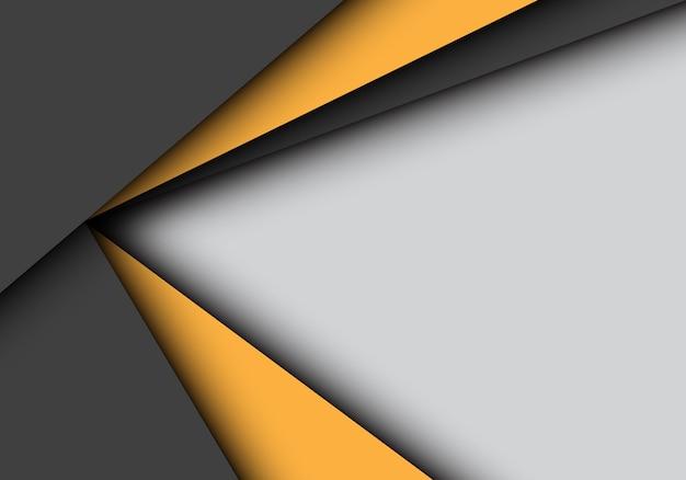 Sobreposição preta amarela da seta no fundo cinzento.