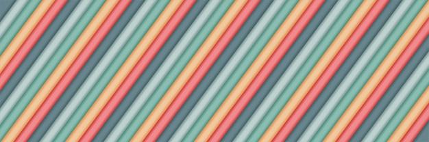 Sobreposições geométricas da camada pastel abstrata moderna com design de várias cores