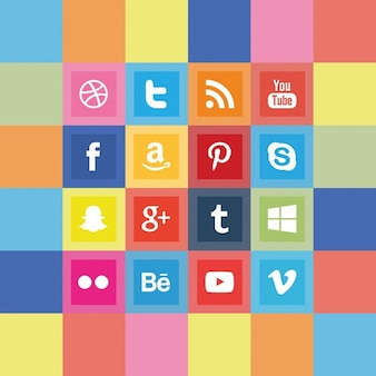 Social media logo pack