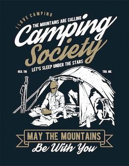 Sociedade de acampamento