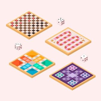 Sociedade de jogos de tabuleiro de alta vista